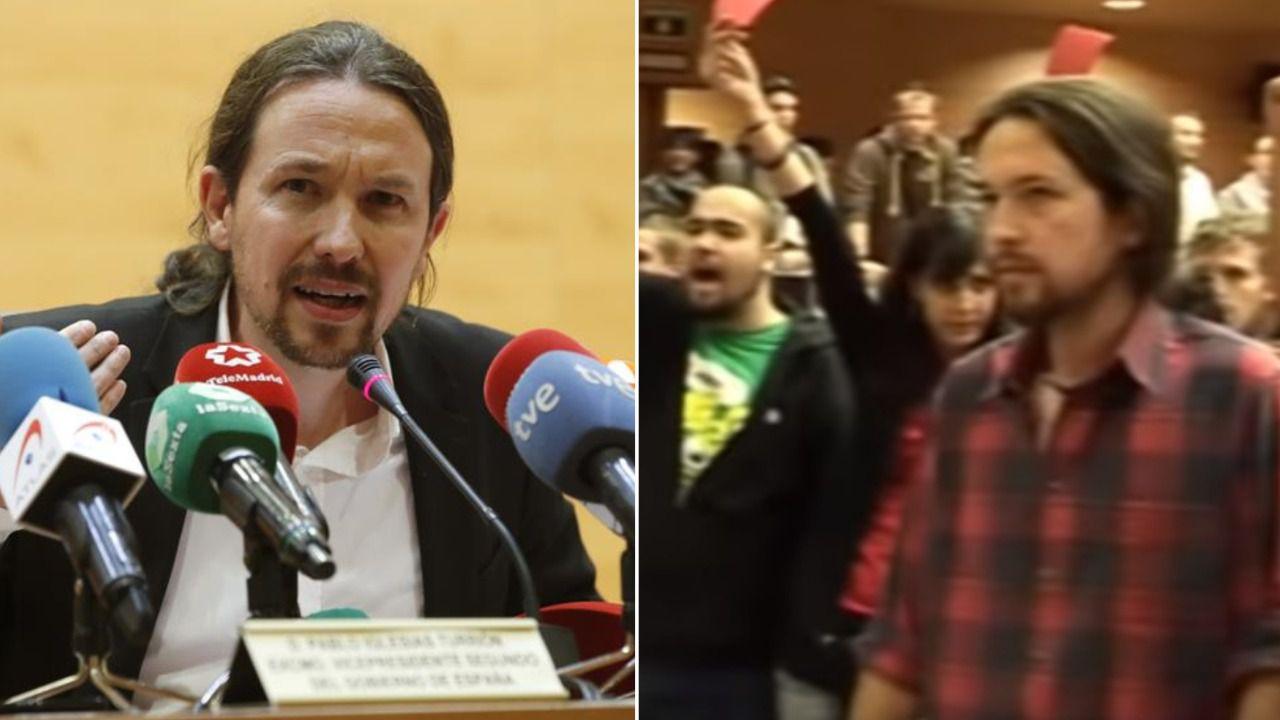 Pablo Iglesias, 'escracheado' 10 años después en