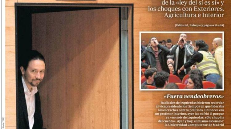 Las portadas y los titulares destacados de los periódicos de este jueves