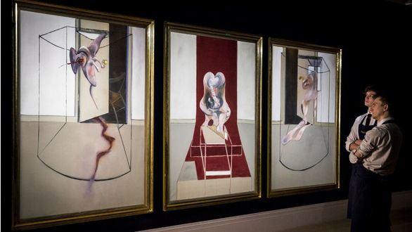 La tragedia griega de Esquilo interpretada por Bacon en un tríptico de 60 millones de dólares