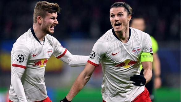 Sabitzer lidera el triunfo del Leipzig sobre el Tottenham | 3-0
