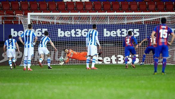 La Real se impone en el duelo de los penaltis aplazado por Zaldibar | 1-2