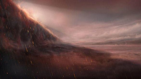Descubren un exoplaneta gigante y abrasador donde llueve hierro fundido