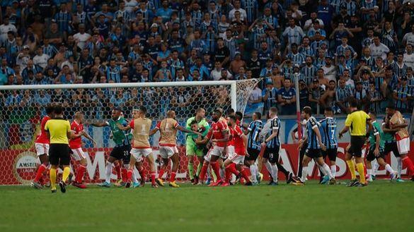 Así se despidió el fútbol de élite por el coronavirus: ocho expulsados entre Gremio e Inter