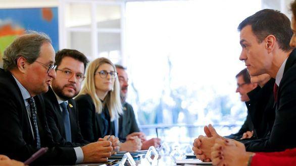 Sánchez y Torra aplazan la mesa de diálogo sobre Cataluña por el coronavirus