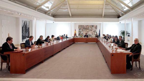 Consejo extraordinario de ministros por el coronavirus.