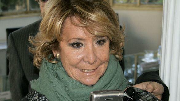 Esperanza Aguirre y su marido, ingresados por coronavirus