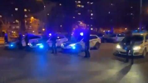 Homenaje de la Ertzaintza a la Guardia Civil tras la muerte de dos guardias civiles