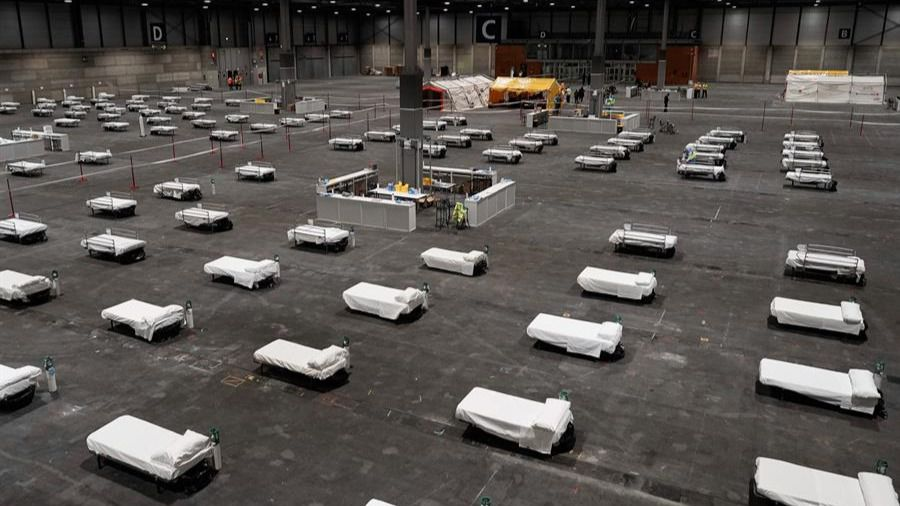 Madrid construye en tiempo récord el hospital más grande de España