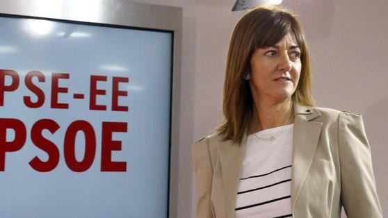 La líder del PSOE vasco, ingresada con neumonía por coronavirus