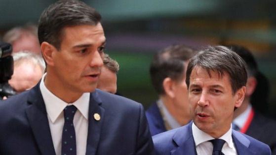 España e Italia se plantan ante la UE y rechazan por insuficiente su plan económico