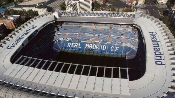 Estadio Santiago Bernabéu, Real Madrid.