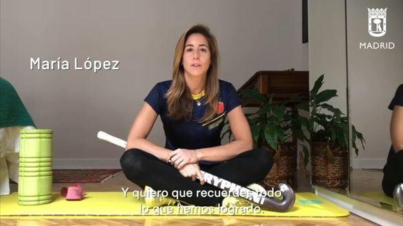 Figuras del deporte madrileño participan en el vídeo 'Juntos vamos a ganar este partido'