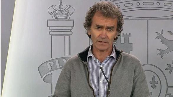 Fernando Simón da positivo en la prueba de coronavirus
