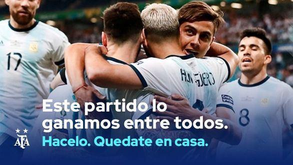 El vídeo con el que Argentina se motiva a través del fútbol