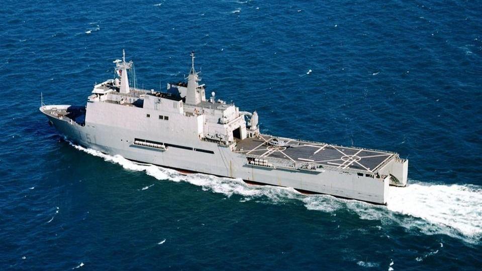 Así son los buques militares que tiene preparados Defensa si son necesarios