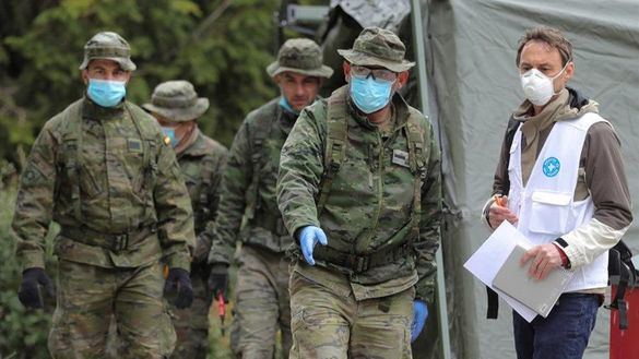 Primer militar muerto por coronavirus: un subteniente de 57 años