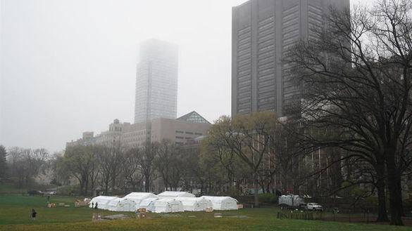 El caos en Nueva York muta a las canchas del US Open y a Central Park en hospitales