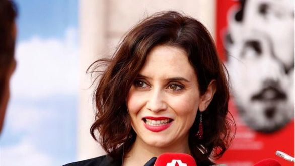 La presidenta de la Comunidad de Madrid, Isabel Ayuso.