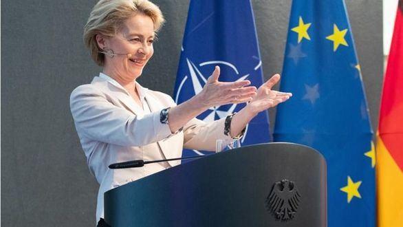 Fotografía de archivo de la nueva presidenta de la Comisión Europea, la conservadora Ursula von der Leyen.
