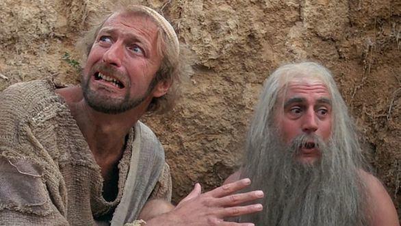Escena de la película 'La vida de Brian', de los Monty Python.
