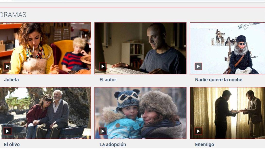 Sesenta películas españolas gratis en un nuevo portal digital de RTVE