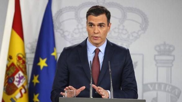 Pedro Sánchez, este martes.