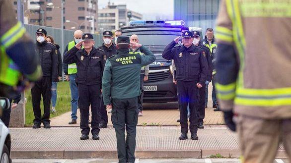 Tercera semana de alarma: casi 2.000 agentes infectados y 9 muertos