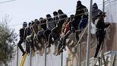 Imagen de archivo del vallado entre Melilla y Marruecos