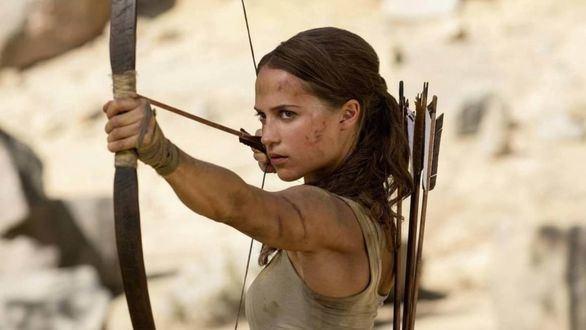 Alicia Vikander da vida a Lara Croft en 'Tomb Raider'.