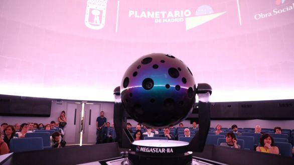 El Planetario de Madrid ofrece charlas sobre astronomía hasta el 15 de abril
