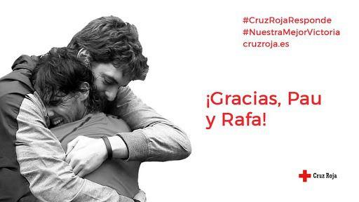 ACB. Nadal y Gasol se unen a la iniciativa #NuestraMejorVictoria de la Cruz Roja