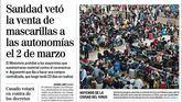 Las portadas de los periódicos de este jueves, 9 de abril