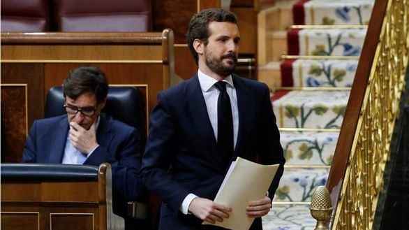 Casado: 'Sánchez ha querido volar todos los puentes y no merece el apoyo'