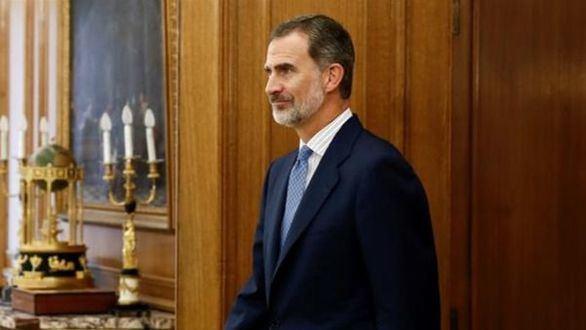Felipe VI aplaude 'el redoblado esfuerzo' de Policía y Guardia Civil