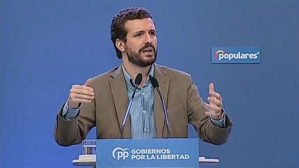 Casado cree que Sánchez ofrece un gran pacto de Estado para tapar su