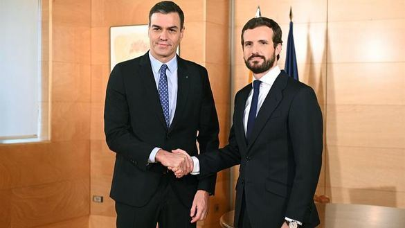 Casado acudirá a los Pactos de La Moncloa pero pide a Sánchez que retire los insultos