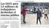 Las portadas de los diarios de este martes, 14 de abril