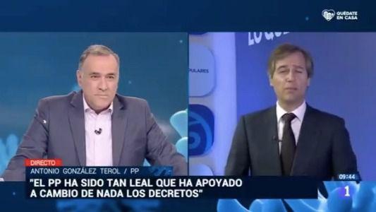 González Terol saca los colores a Xavier Fortes al denunciar la manipulación de TVE