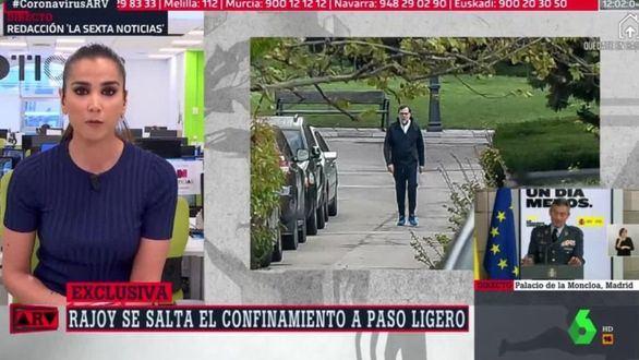 El Gobierno investiga si Rajoy se saltó el confinamiento