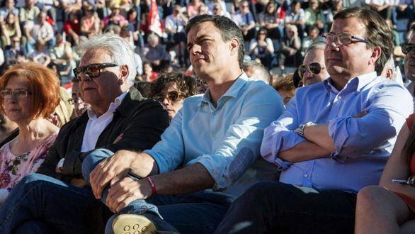 Fernández Vara afea a Pedro Sánchez su actitud con Pablo Casado