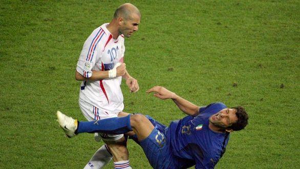 Materazzi, sobre el cabezazo de Zidane: 'Mis compatriotas me aplastaron y debían besar por donde pisé'