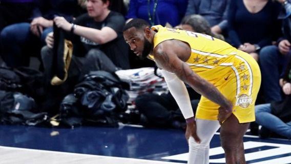 NBA. LeBron James admite, con frustración, que puede que no se vuelva a jugar