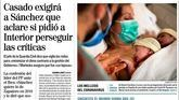 Las portadas de los diarios de este lunes, 20 de abril