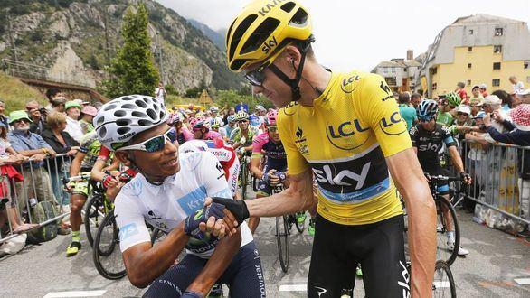 Tour de Francia. Chris Froome se burla de Eusebio Unzue