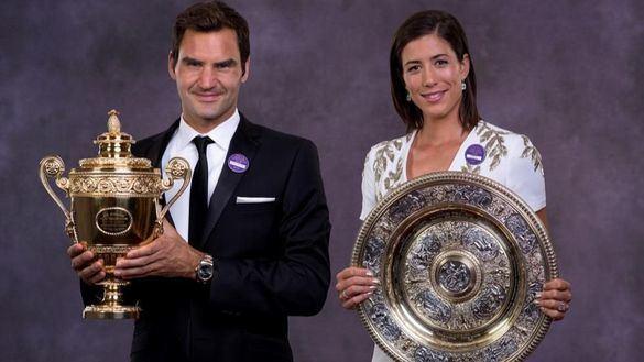 Federer impulsa una fusión entre ATP y WTA con el respaldo de Nadal y Muguruza