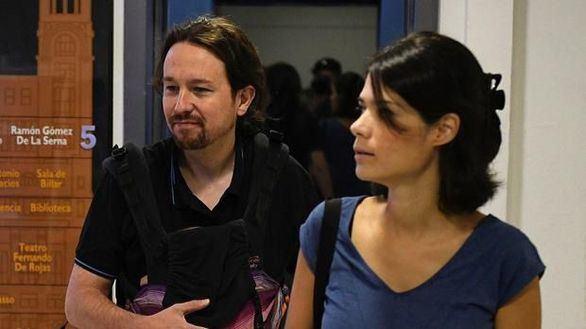 Pablo Iglesias e Isa Serra.