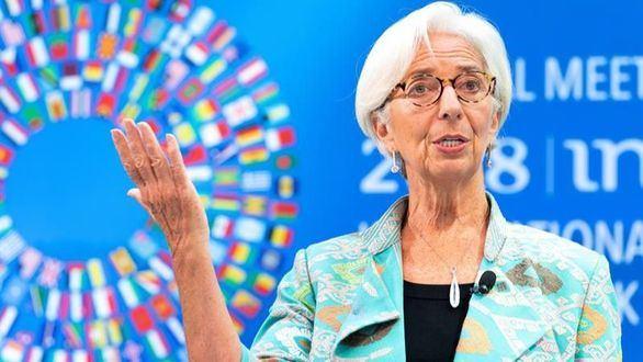 Lagarde: el PIB de la Eurozona podría caer hasta un 15 por ciento