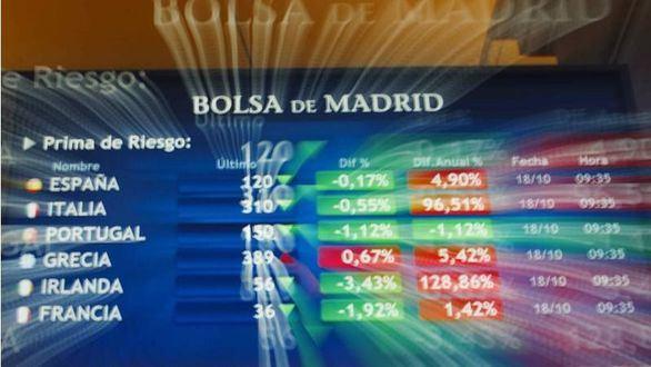 La bolsa española pierde esta semana el 3,81%, el peor resultado en seis semanas