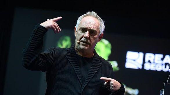 Ferran Adriá, chef e intelectual gastronómico.