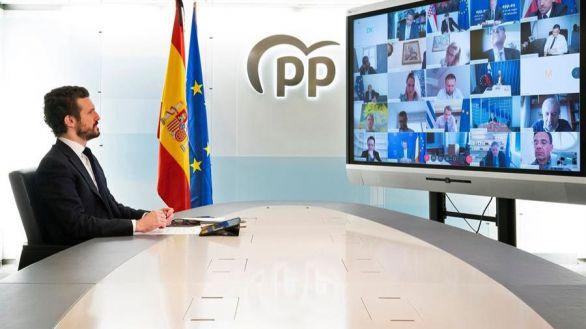 Casado: si Sánchez quiere el apoyo del PP, debe tener un 'plan claro para salir de esta'